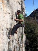 Rock Climbing Photo: M on Parsifal 1
