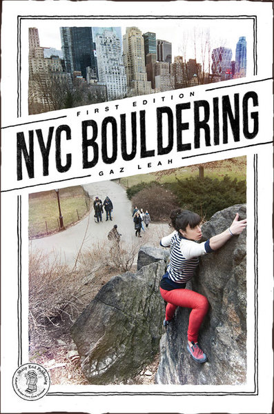 NYC BOULDERING by Gareth Leah is now at the printer and due at the end of September. Look for it at local outdoor shops or online at www.sharpendbooks.com. The book is available for pre-purchase and comes with a free iOS eBook.