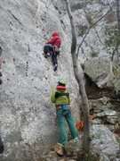Rock Climbing Photo: Getting started