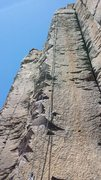 Rock Climbing Photo: A fun, moderate route that is well protected, or l...