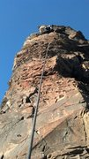 Rock Climbing Photo: On site and then sent again on TR to try different...