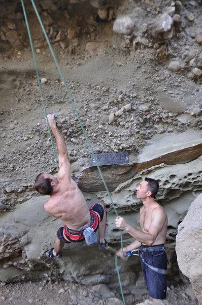 Rock Climbing Photo: The start of Auto Magic