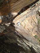 Rock Climbing Photo: Grove Price on second and namesake pitch London Du...