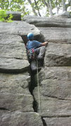 Rock Climbing Photo: Bostonian awkwardness
