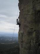 Rock Climbing Photo: Some poser shagging it.