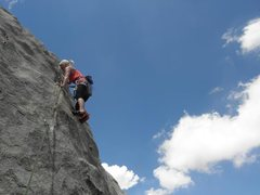 Rock Climbing Photo: uptop