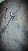 Rock Climbing Photo: 5.10A lead in Riverside Quarry