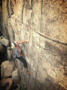 Rock Climbing Photo: Solo 5.8 in Joshua Tree