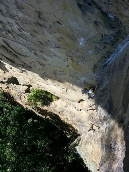 Climber: Kevin Wagner<br> Photo Credit: Alex Mitchell