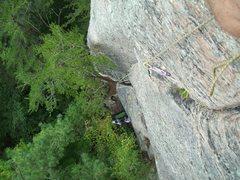 Rock Climbing Photo: On Sight