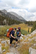 Rock Climbing Photo: Heading up the climbers trail just after Long Lake...