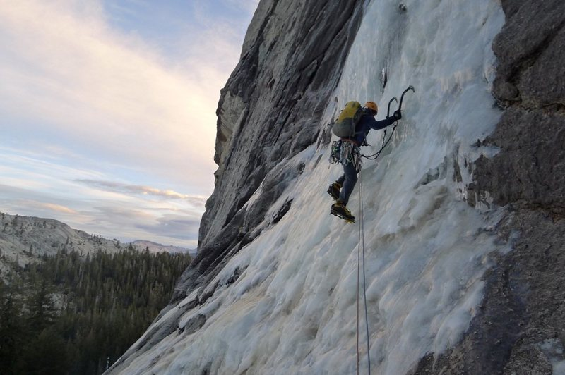Rock Climbing Photo: Yellow Brick Road P1