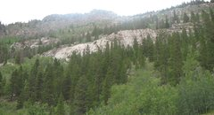 Rock Climbing Photo: Here is an overview of the cliff.