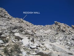 Rock Climbing Photo: Final part of the route leading to the south ridge...