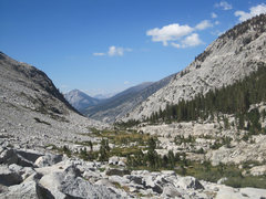 Rock Climbing Photo: Looking north down the beautiful Colby Canyon.