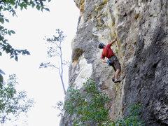 Rock Climbing Photo: Hucky Sucky