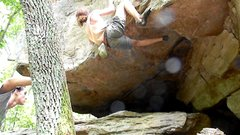 Rock Climbing Photo: before the final throw