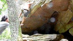 Rock Climbing Photo: after the throw