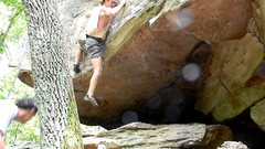 Rock Climbing Photo: jug haul to the top