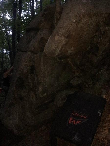 Rock Climbing Photo: Broken Wing