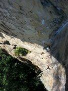 Rock Climbing Photo: Where Lizards Dare