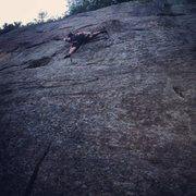 "Rock Climbing Photo: Leonardo Venegas on ""Cheyenne"""