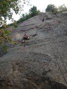 "Rock Climbing Photo: JF Lépine in ""Tomahawk"""