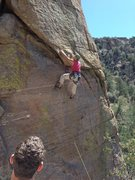 Rock Climbing Photo: Great place to take a first fall on gear (and hang...