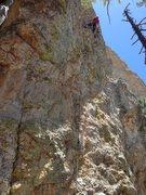 Rock Climbing Photo: Rope gun at work. Easily in top ten 10s on Lemmon.