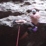 Throwing down a heel hook on Creature Feature