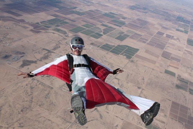 Eloy skydiving