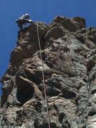 Rock Climbing Photo: Fun climb. Excellent finish.