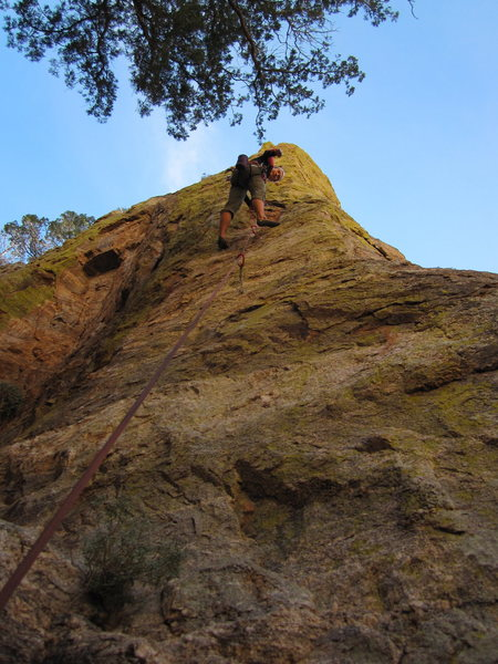 Rock Climbing Photo: Awesome climb. Heady start if you're not a 10 lead...