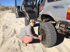 Rock Climbing Photo: Mojave