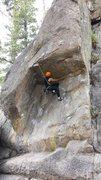 Rock Climbing Photo: Powder Keg