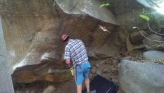 Rock Climbing Photo: Get out of the way, Erik! I will replace this phot...