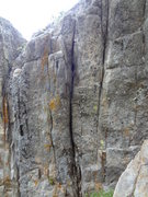 Rock Climbing Photo: Very overhanging, packs a lot of punch for 20 feet...