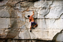Rock Climbing Photo: deep water solo WV