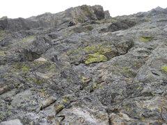 Rock Climbing Photo: Jackson - Johnson route - Hallett Peak. RMNP Sunda...