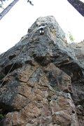 Rock Climbing Photo: Memorial Falls at the 2nd Falls Wall