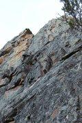 Rock Climbing Photo: Memorial Falls at the Lower Wall