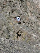Rock Climbing Photo: What you can't really see from this shot is the wi...