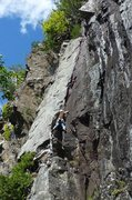 Rock Climbing Photo: Snake Charmer on a crisp late summer day.