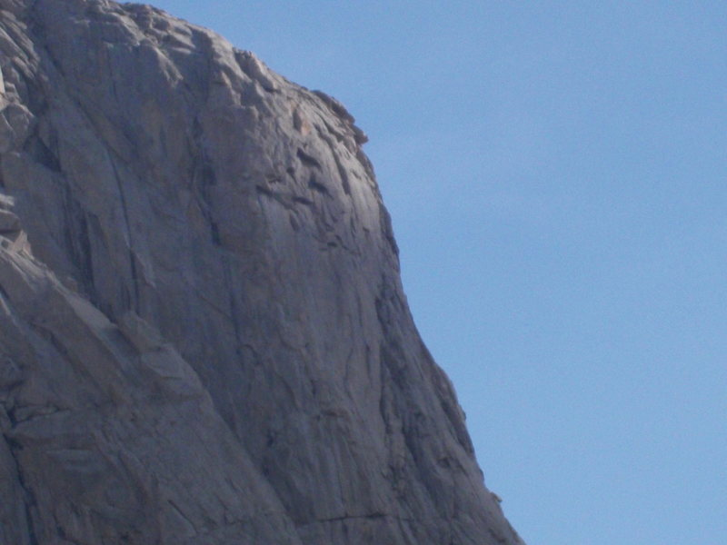 Rock Climbing Photo: This is the wall we are calling Resolute Buttress.