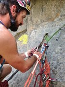 Rock Climbing Photo: DT Belay