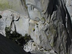 Rock Climbing Photo: overview of spooky slab