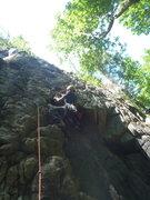 Rock Climbing Photo: From below.
