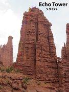Rock Climbing Photo: Phantom Sprint Route Topo
