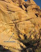 Rock Climbing Photo: Looking up at the North West face from the trail. ...