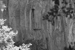 Rock Climbing Photo: Ryan, following Aquarius Rising. (Right Center)